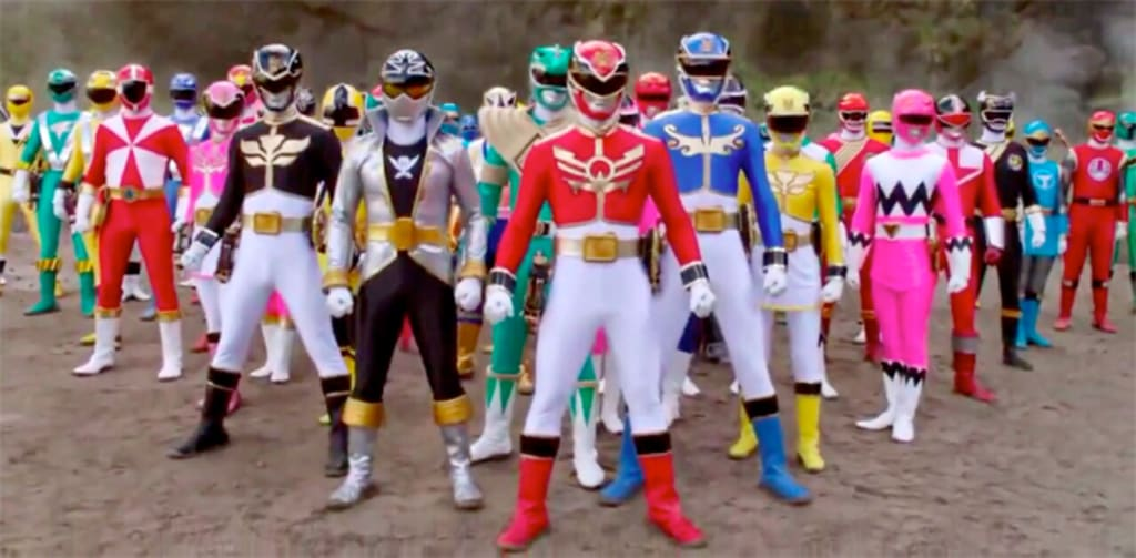 The 10 Best Series of 'Power Rangers!'