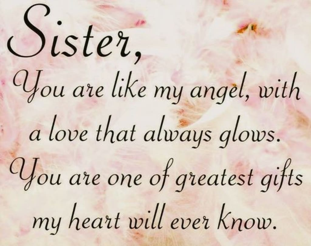 A Letter to My Big Sister