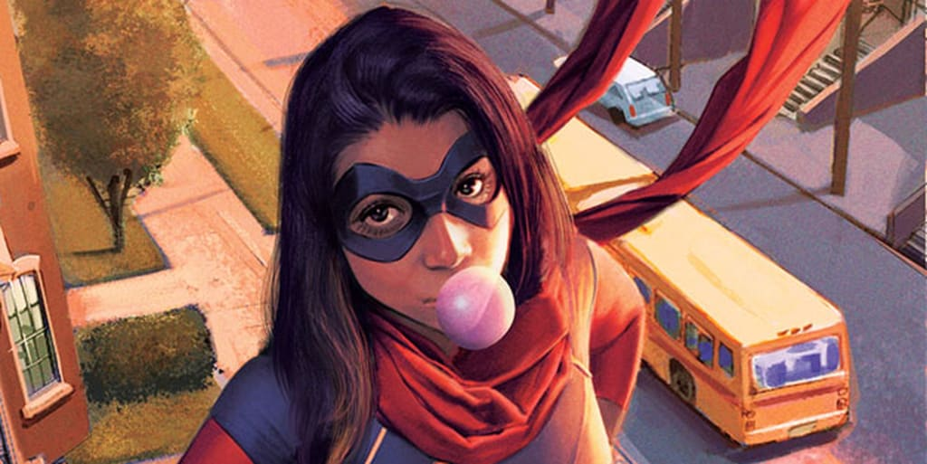 Ms. Marvel / Kamala Khan Creator G. Willow Wilson Adds Some Perspective To The Marvel Comics Diversity Debacle