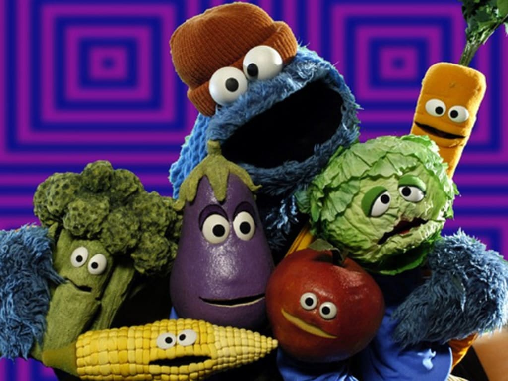 Taking The Biscuit Did Sesame Street Turn Cookie Monster Into Veggie Monster