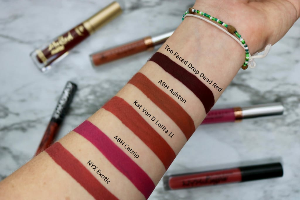 5 Dark Lipsticks to Prepare You for Fall