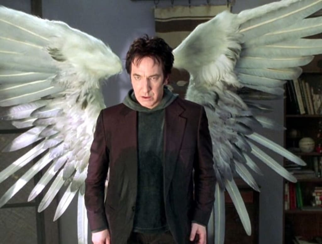 5 Times Alan Rickman's Metatron Character From 'Dogma' Was Too Real