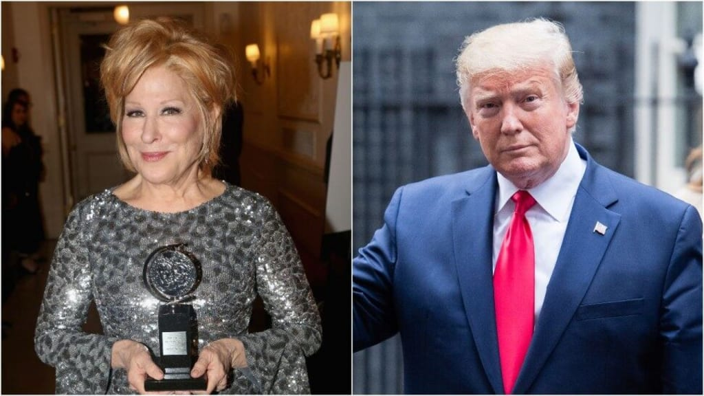 Donald Trump Blasts Bette Midler