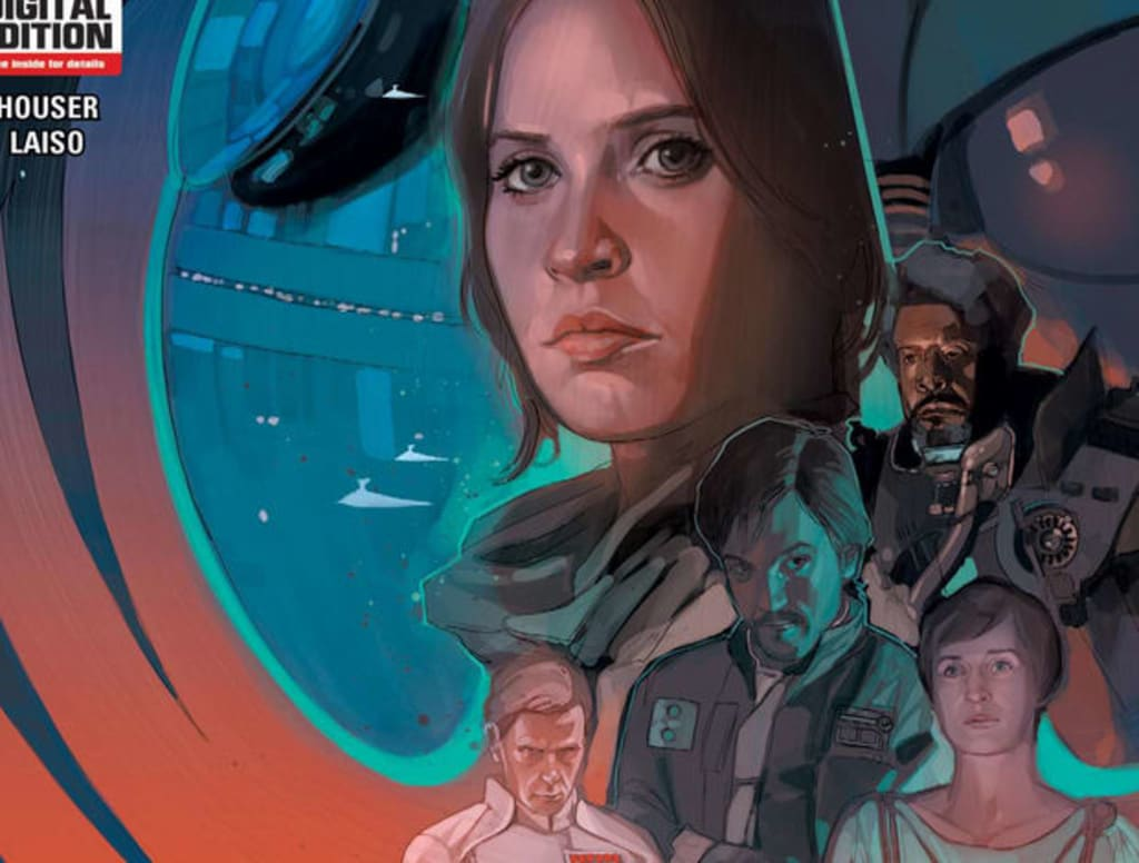 Star Wars: Marvel's Rogue One Comic Adaptation Will Exclusively Reveal Deleted Scenes from the Movie!