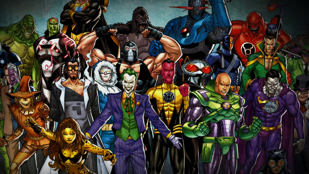 Most Evil DC Villains of All Time