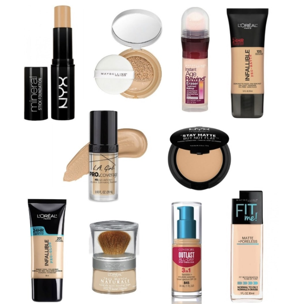 Drugstore Foundation Review