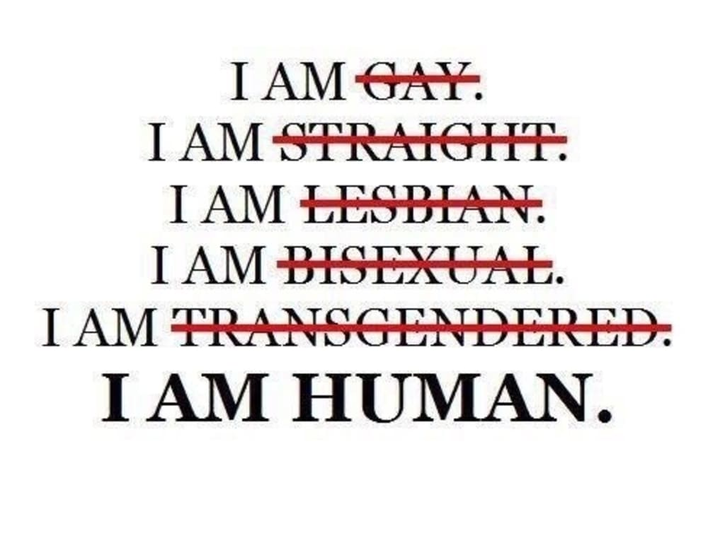 Humans DO NOT need labels.