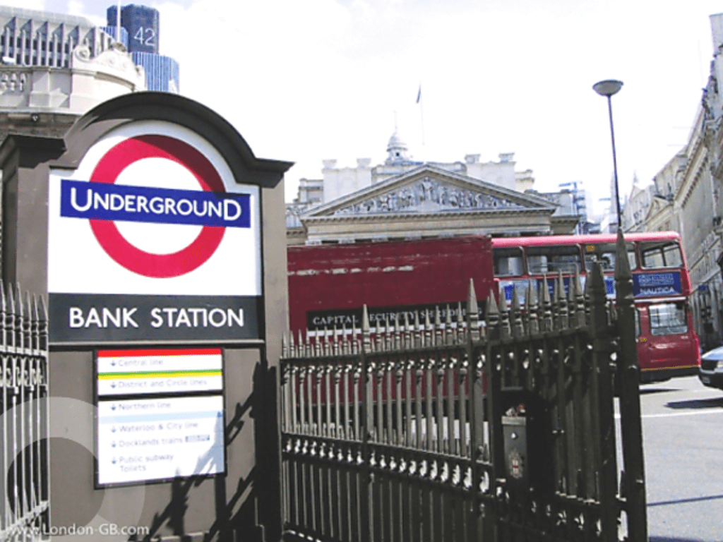 The History of Bank Station