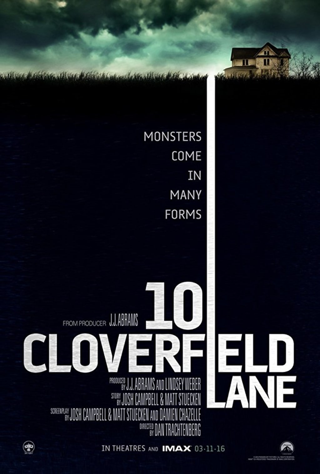 Reed Alexander's Horror Review of '10 Cloverfield Lane' (2016)