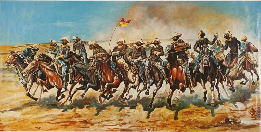 A History of California Buffalo Soldiers