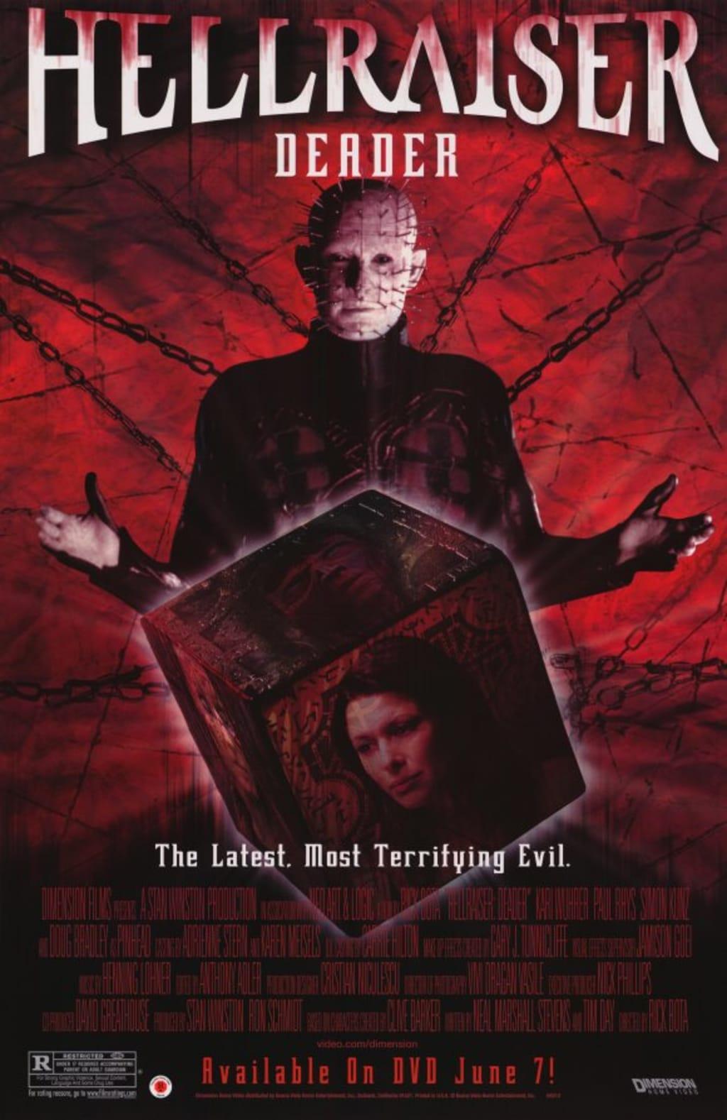 Reed Alexander's Horror Review of 'Hellraiser: Deader' (2005)