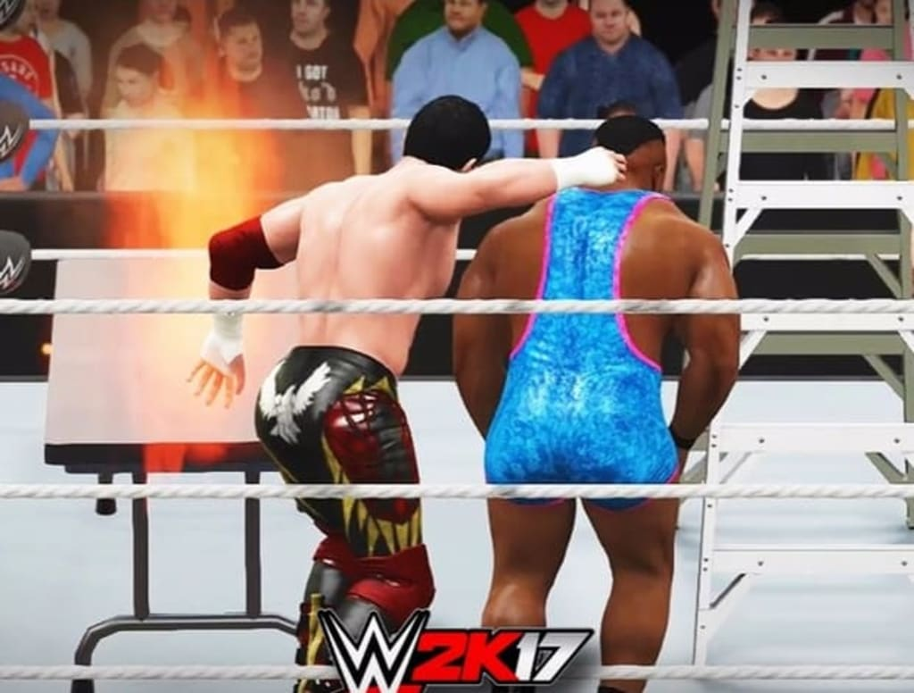 WWE2K17: How (and When) to Use Weapons and Props