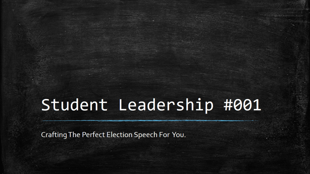 Student Leadership #001