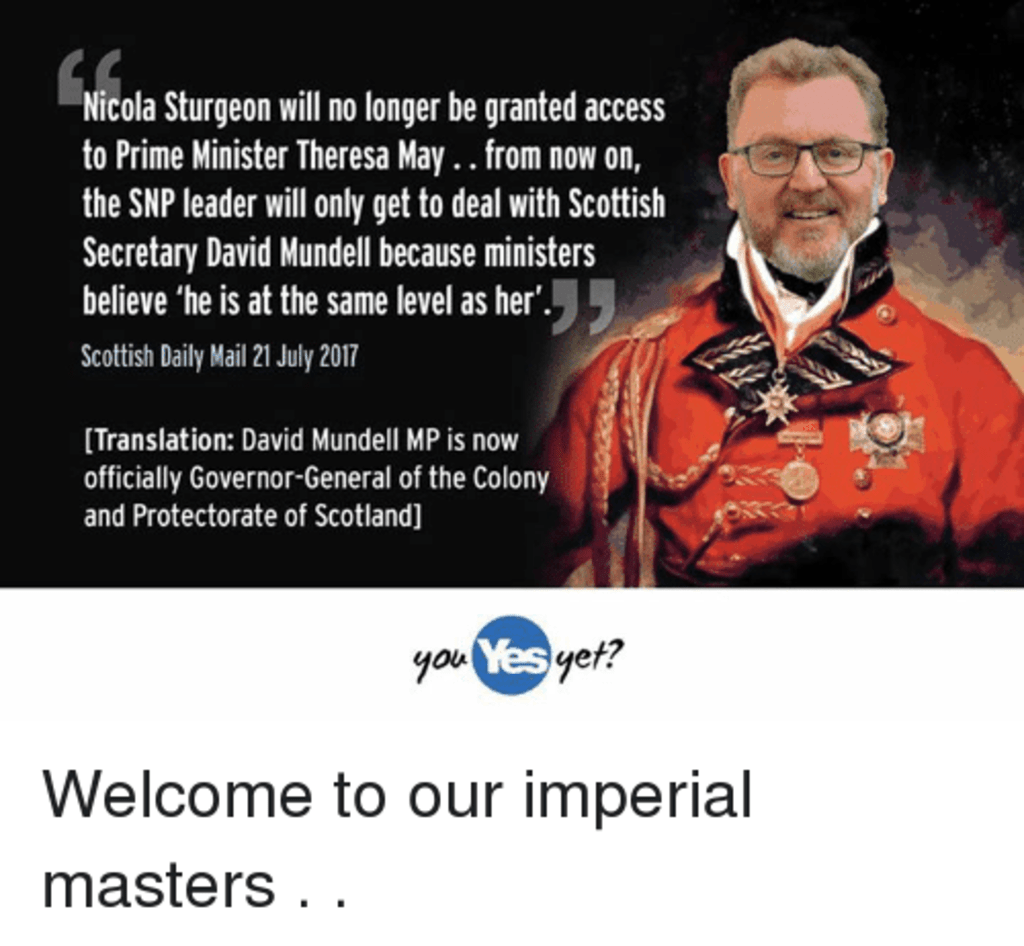 Goodbye Scotland: Westminster Coup Against Holyrood Exposed?