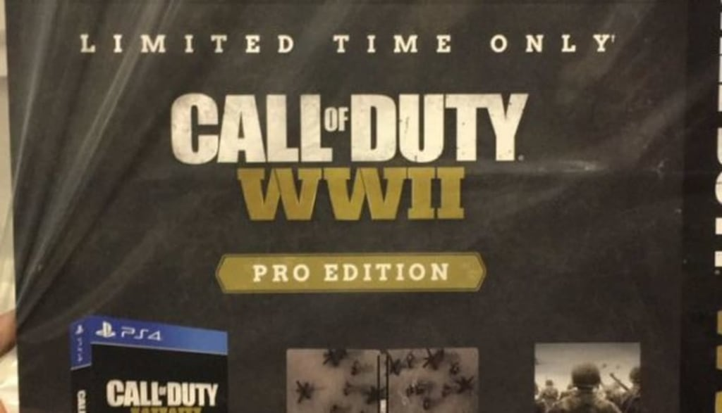'Call of Duty: WWII' Pro Edition Image Gets Leaked