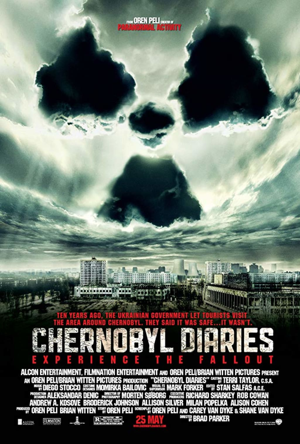 Reed Alexander's Horror Review of 'Chernobyl Diaries' (2012)