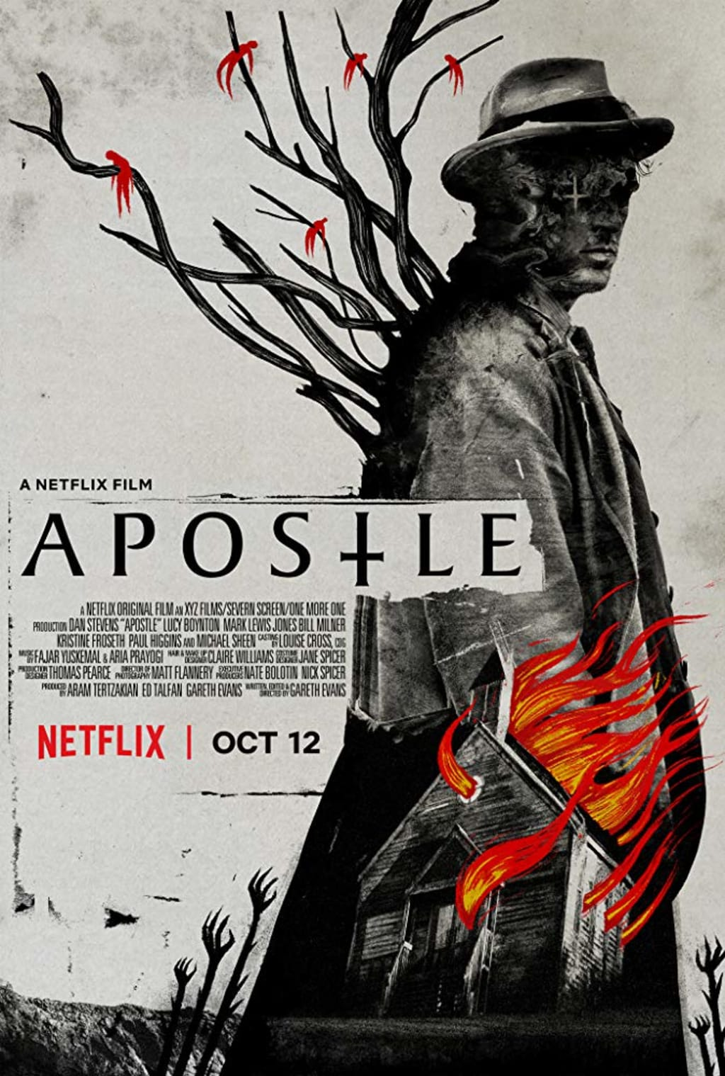Reed Alexander's Horror Review of 'Apostle' (2018)