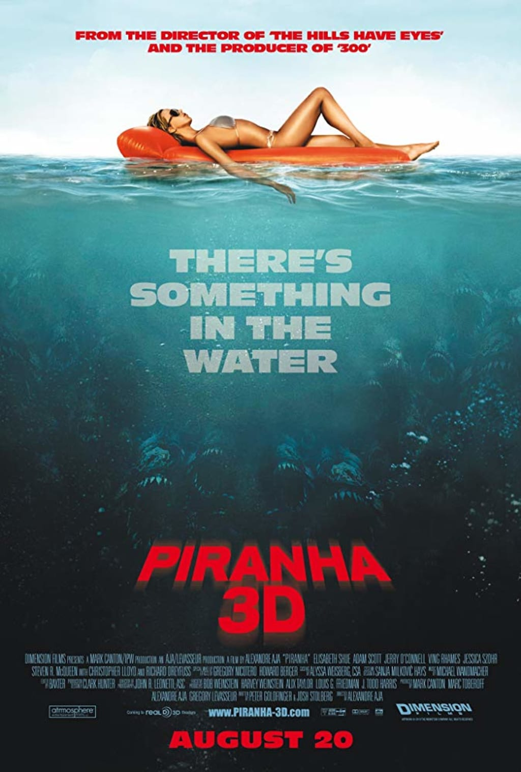 Reed Alexander's Horror Review of 'Piranha 3D (2010)'