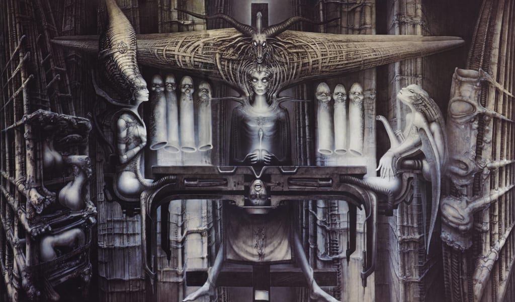 Best H.R. Giger Illustrations