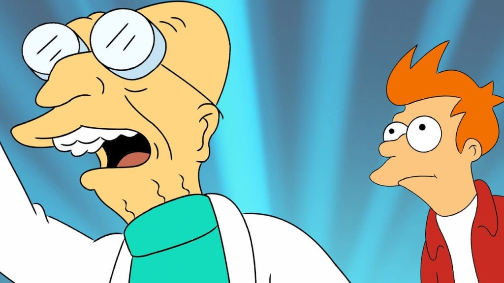Good News, Everyone! the Voice of Professor Farnsworth and Fry Channels 'Back to the Future' in Hilarious Mashup Video