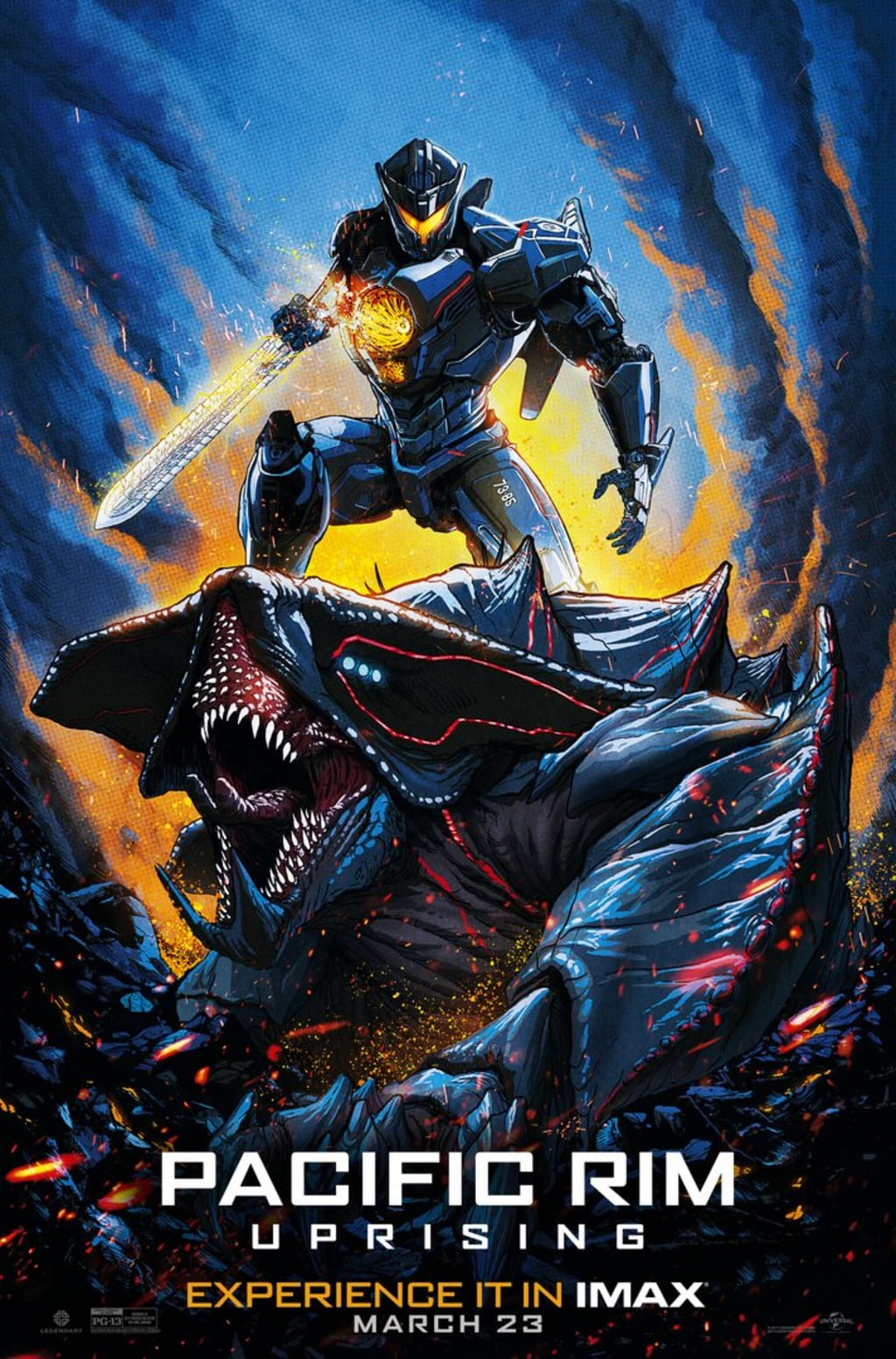 Review Pacific Rim Uprising 2018