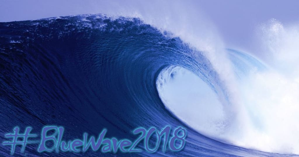 """Could the """"Blue Wave"""" Be Starting to Break Far from Shore?"""