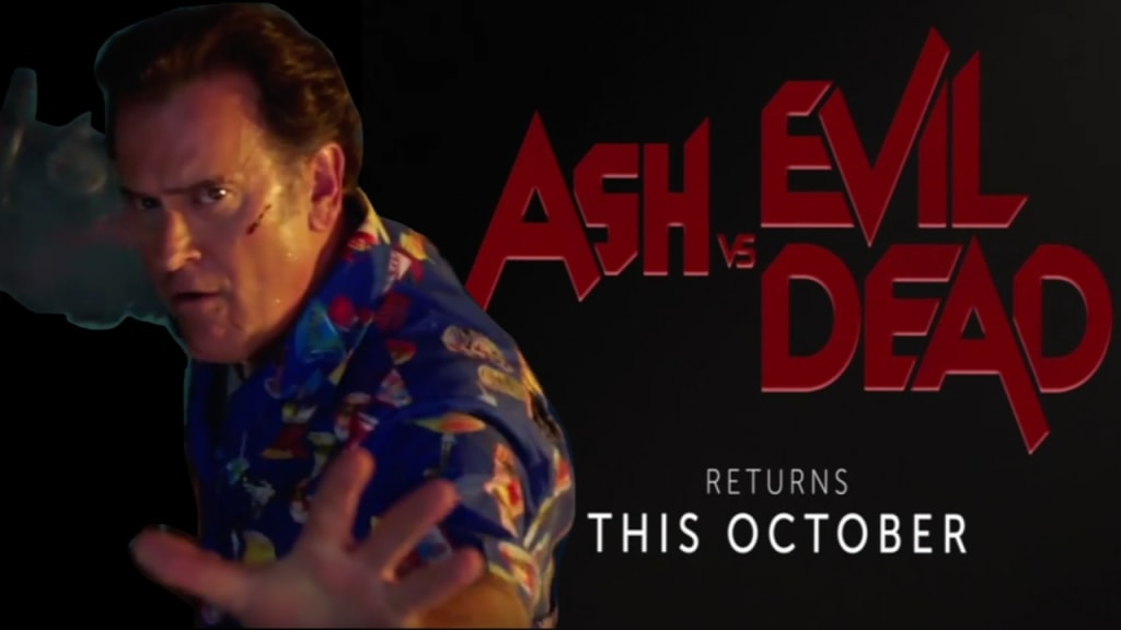 The New 'Ash vs Evil Dead' Season 2 Trailer Is Here and It's Amazing!