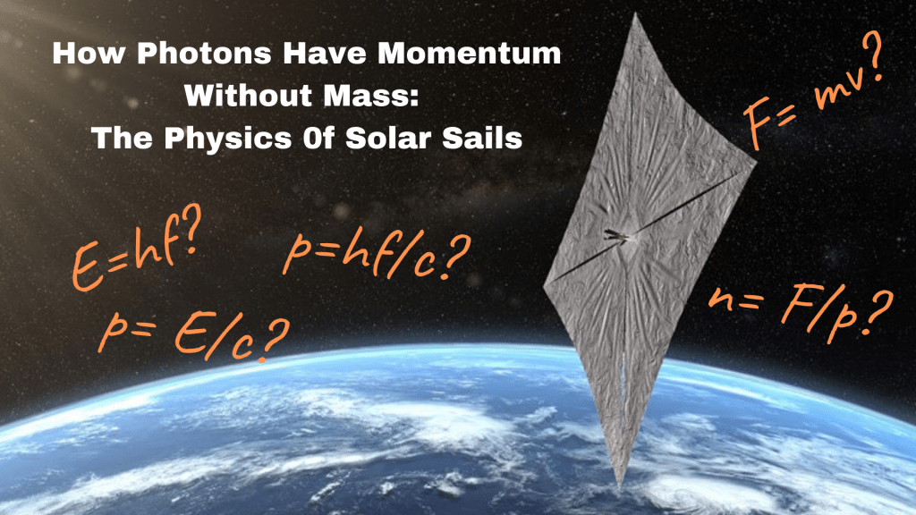The Physics of Solar Sails. How Photons Have Momentum Without Mass.