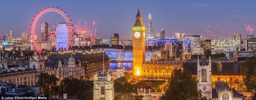 Blimps Over London