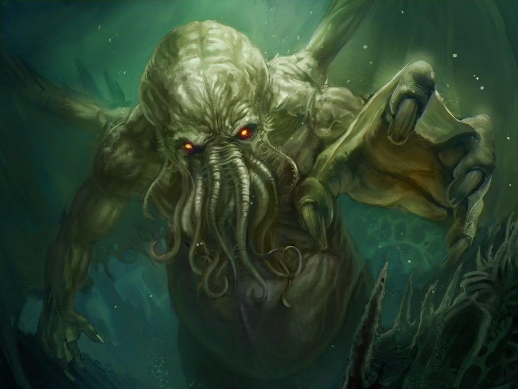 Nightmarish Monsters in Science Fiction (Inspired by Lovecraft)