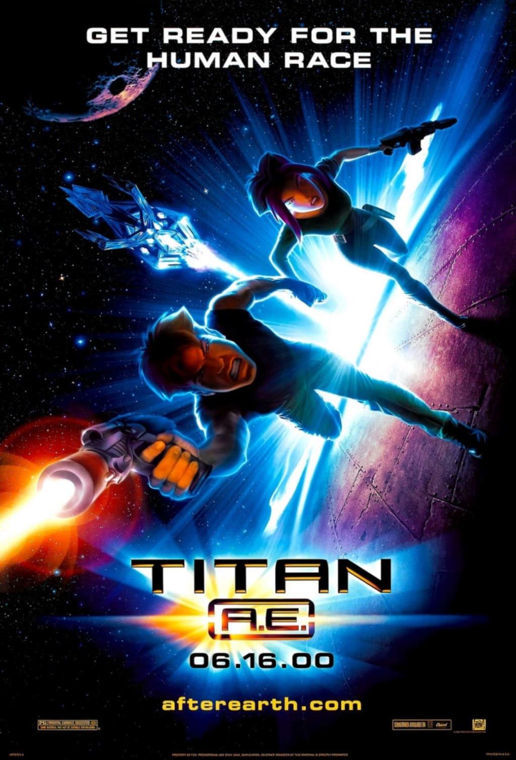 Wherein I Gush About 'Titan A.E.'