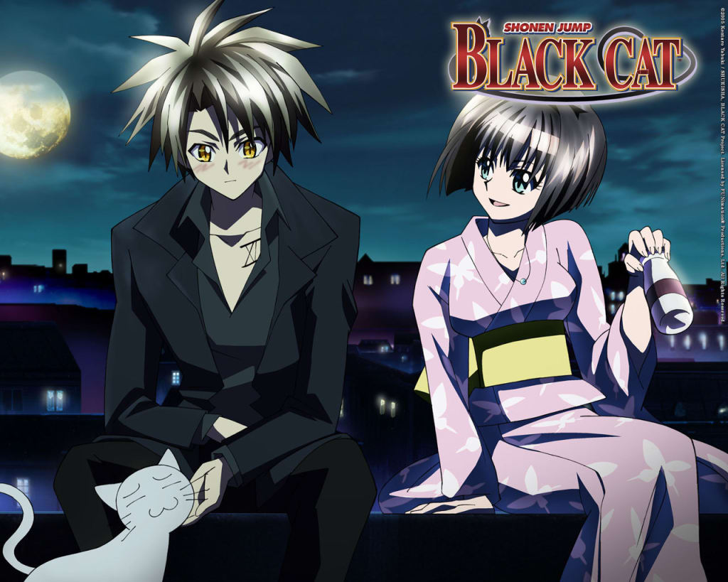 Old School Anime Review - 'Black Cat'