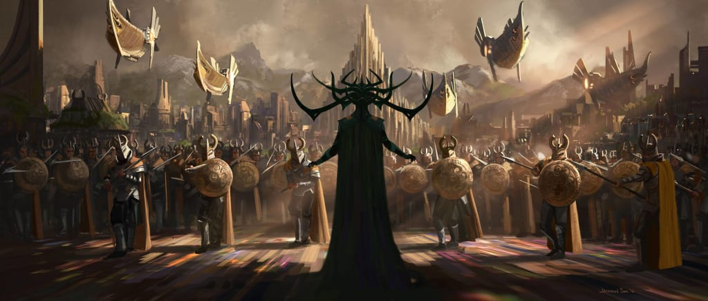 Hela And Thanos Just Got Steamy In The Comics — Will Hela