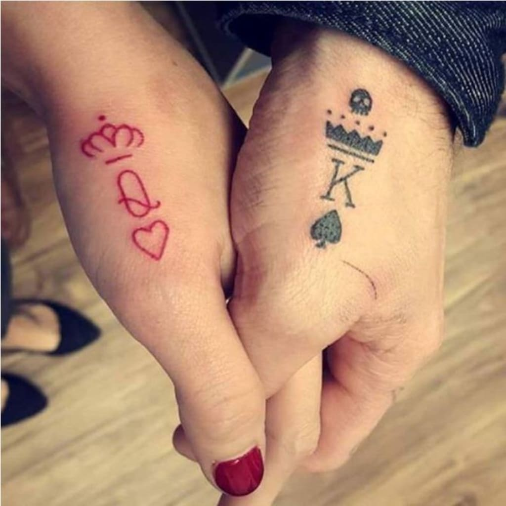 First Tattoo for a Married Couple