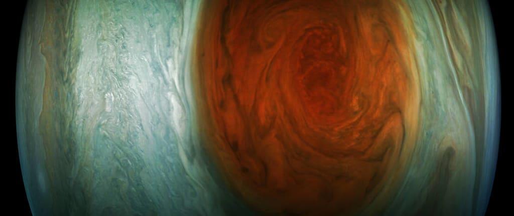 NASA: Jupiter's Great Red Spot Up Close