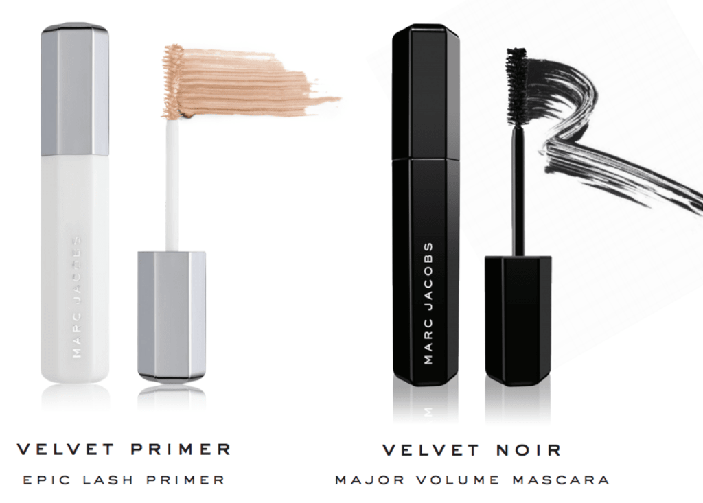 Marc Jacobs Velvet Primer & Velvet Noir Mascara Review
