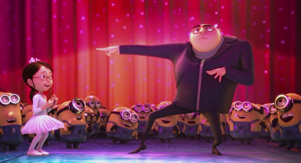 Why Do Animated Movies Such As 'Shrek' & 'Despicable Me' End With Dance Parties?