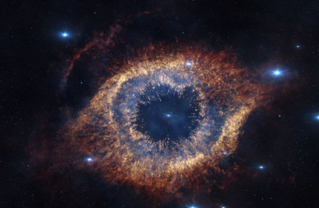 Universe in Eyes