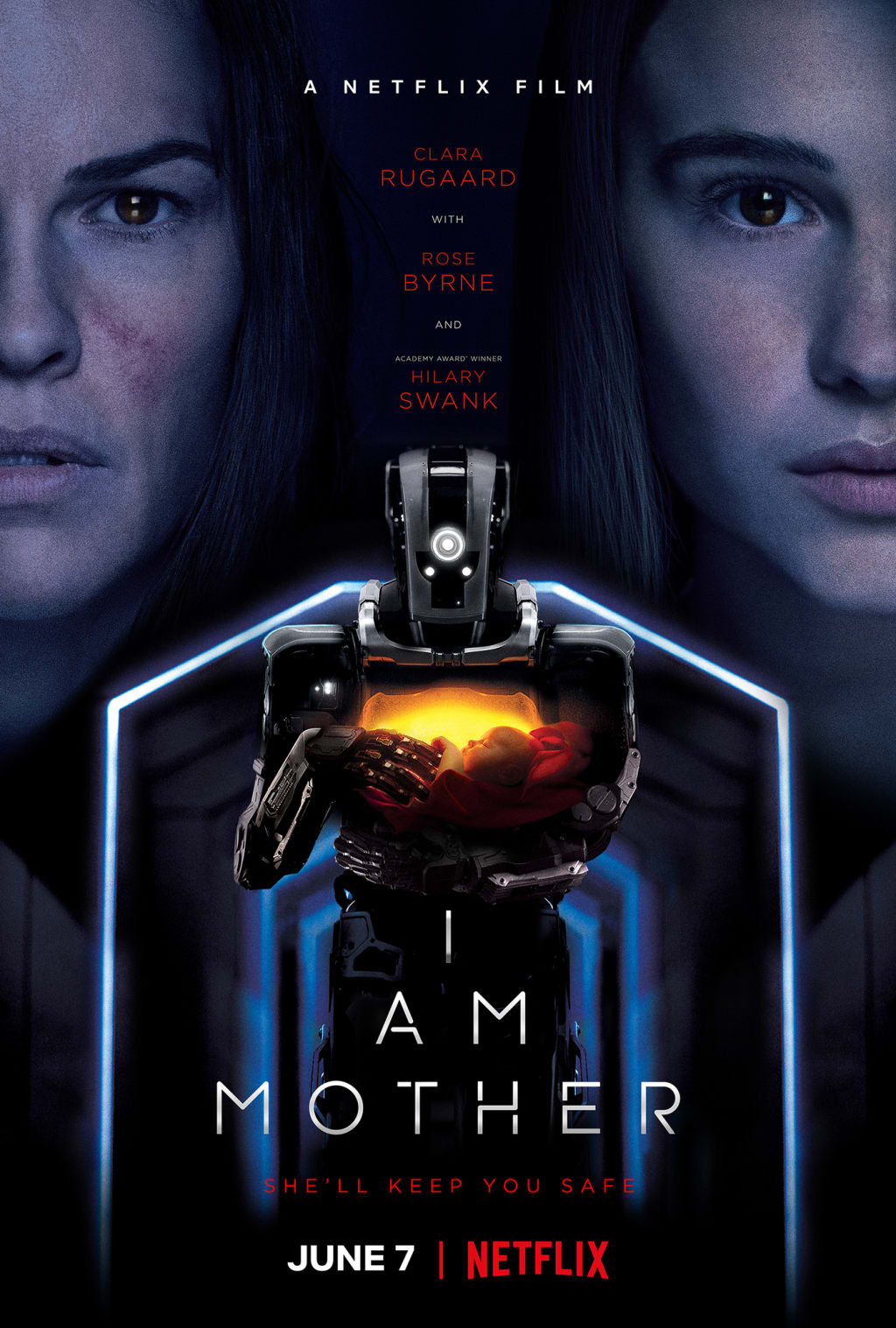 Netflix Movie ~ 'I Am Mother'