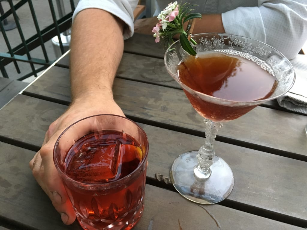 The Best Cocktail at Chicago's Duck Inn