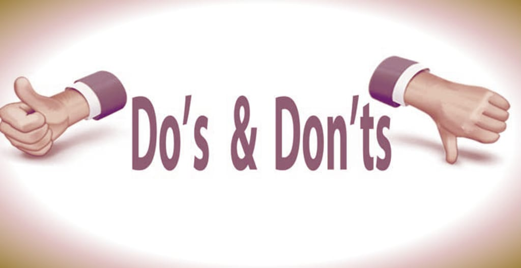 Do's and Don'ts Before and During an Interview Session for Freshers