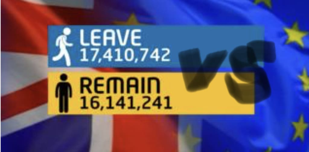 The Cults of Brexit: Leave VS Remain - A Battle of the Antagonists