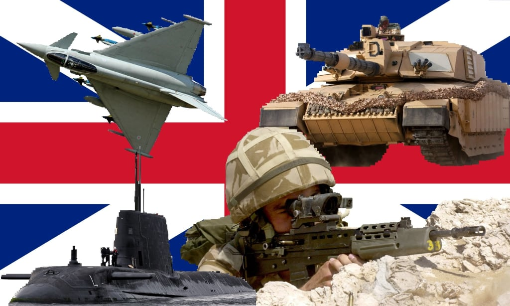 10 Surprising Facts About Life in the British Military