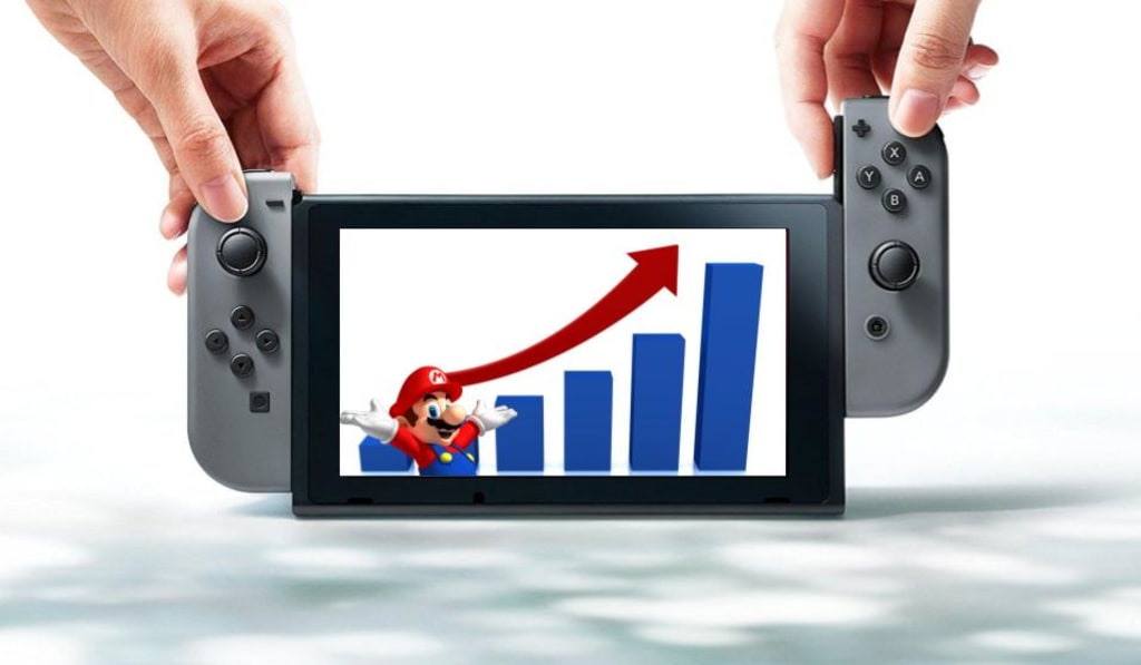 How the Nintendo Switch Succeeds by Becoming the Underdog