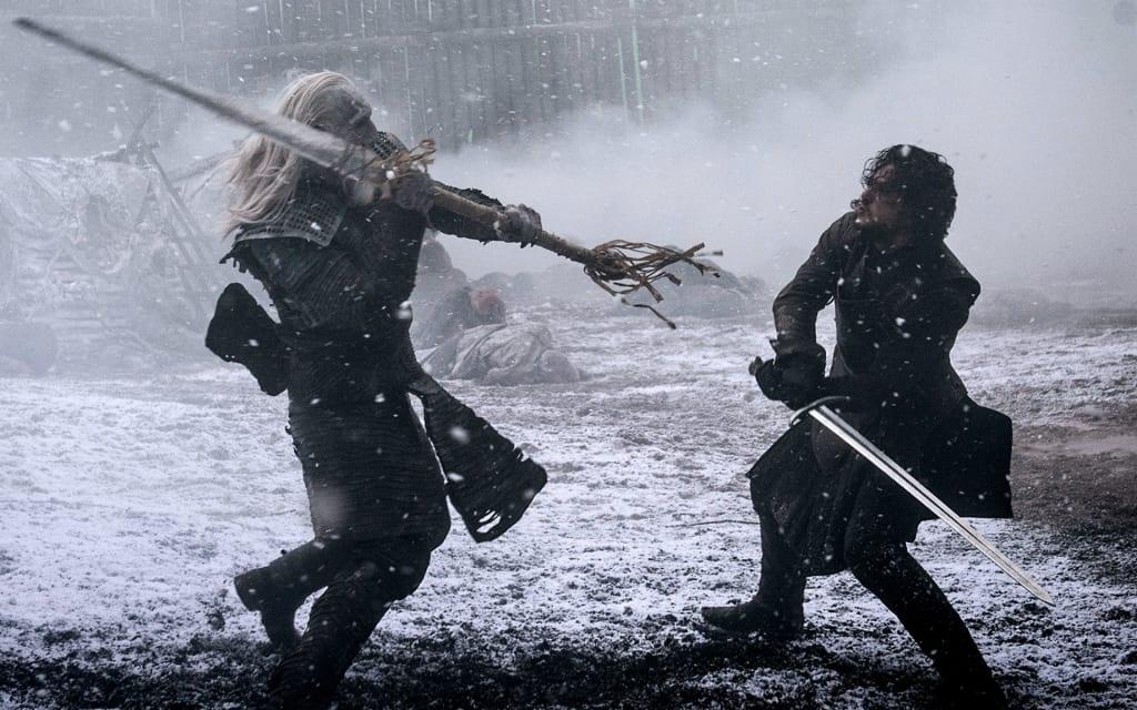 'Game of Thrones' Season 8: Why Jon Snow May Use Greatsword Dawn to Slay the Night King
