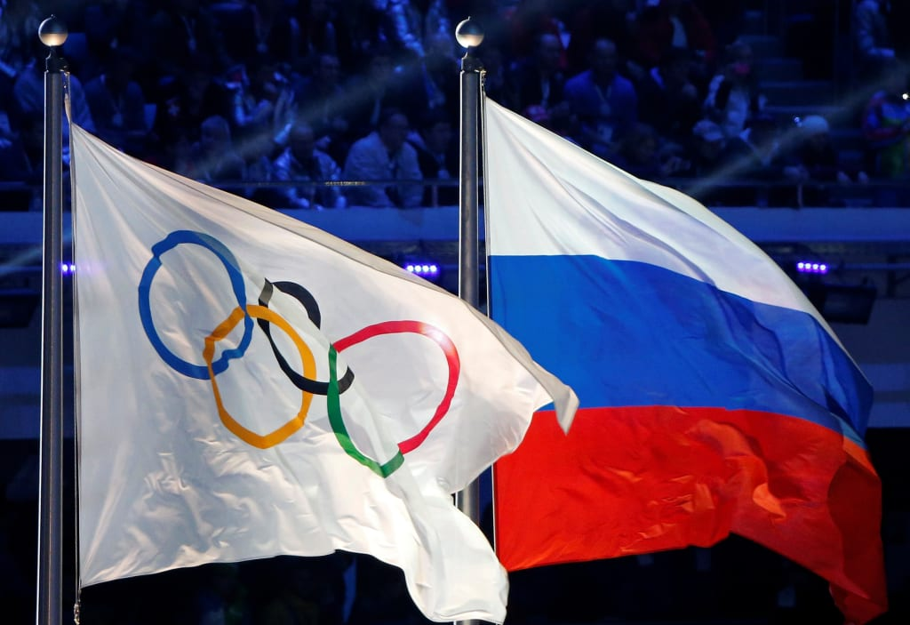 Russia Banned From Winter Olympics