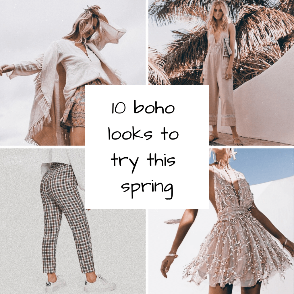 10 Boho Looks to Try This Spring
