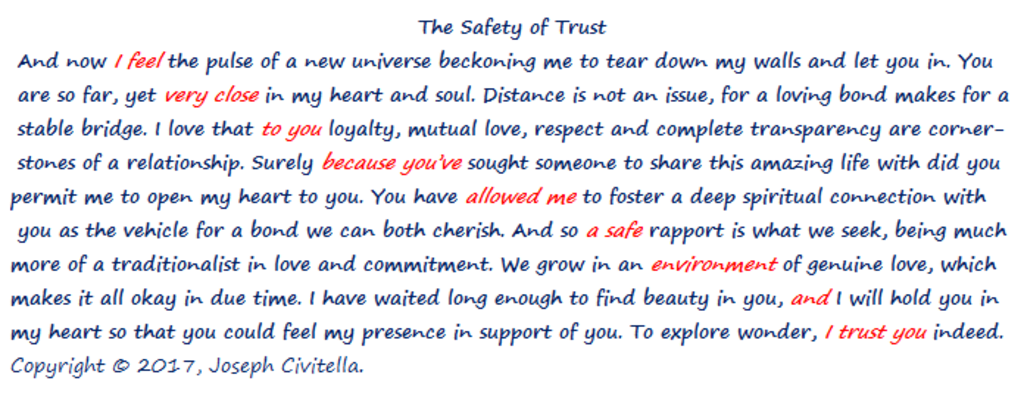 The Safety of Trust
