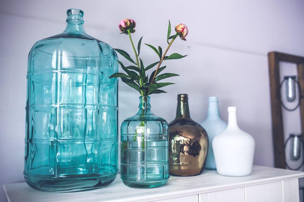 Loving Like Two Great Blue Bottles