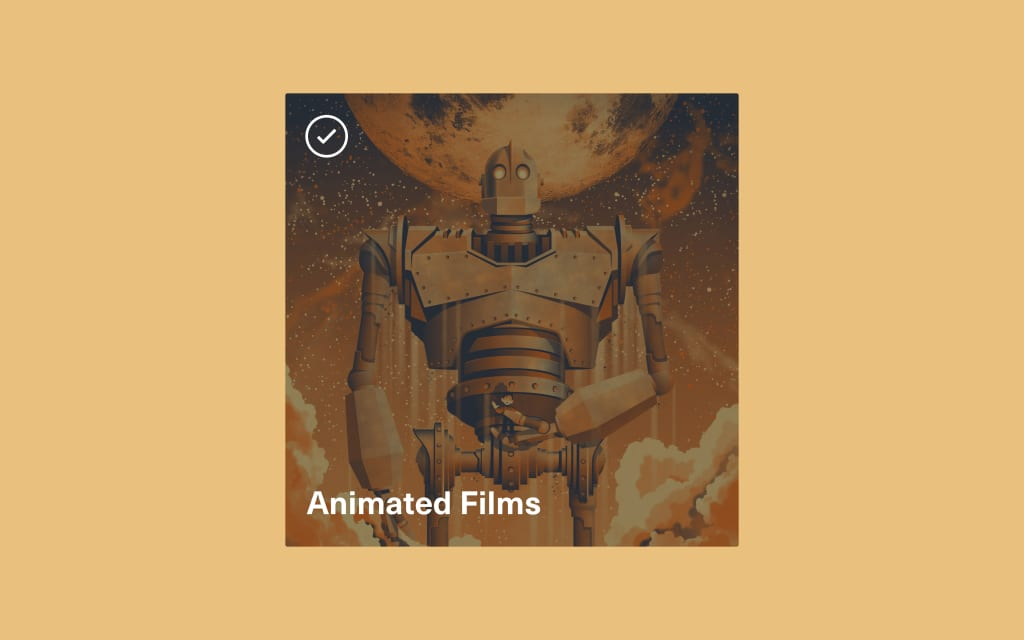 Vocal Verified—Animated Films
